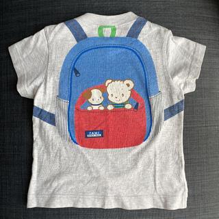 familiar - ⑥ファミリア リュック Tシャツ 90  半袖 だまし絵