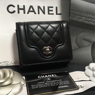 CHANEL - 超美品♡ CHANEL シャネル マトラッセ 三つ折り財布 24番台 正規品