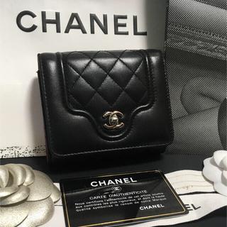 シャネル(CHANEL)の超美品♡ CHANEL シャネル マトラッセ 三つ折り財布 24番台 正規品 (財布)
