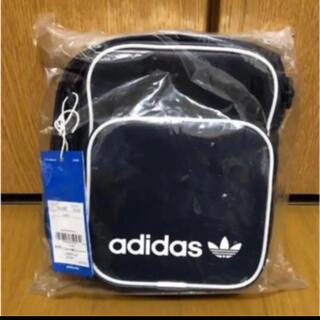 adidas - アディダスオリジナルス ミニショルダーバッグ⭐️ネイビー お値下げ不可