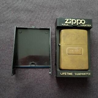 ジッポー(ZIPPO)のzippo‼️1984年製❗ブラス❗(タバコグッズ)