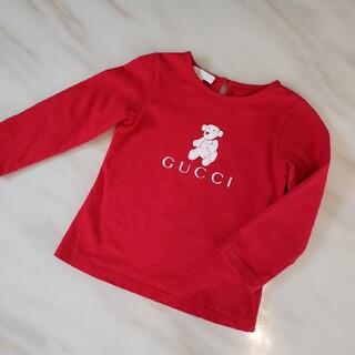 グッチ(Gucci)のGUCCI カットソー 長袖Tシャツ くま 子供服(Tシャツ/カットソー)