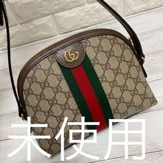 Gucci - グッチ シェリー ショルダー バッグ レザー ブラウン 茶 499621