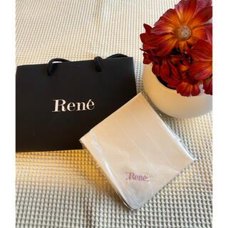 ルネ(René)の新品未使用 ルネ ハンカチ(ハンカチ)