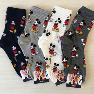 Disney - Mickeyソックス4足セット