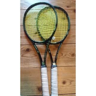 ウィルソン(wilson)の硬式テニスラケット Wilson ブレード98 二本セット(ラケット)