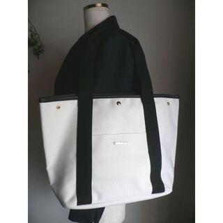 ウィルセレクション(WILLSELECTION)の新品WILLSELECTION 白黒キャンバストートバッグ(トートバッグ)