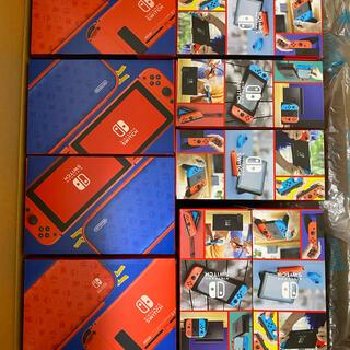 Nintendo Switch - 新品未開封 マリオレッド4個 ネオン5個 即発送