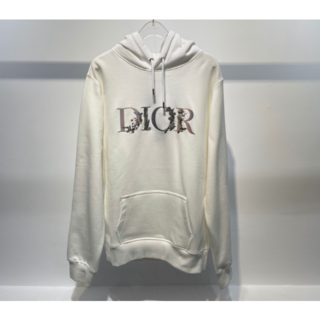 Dior - DIOR オーバーサイズ フラワーズ フーディ スウェット パーカー