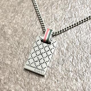 Gucci - 正規品 グッチ ネックレス シェリーライン ディアマンテ シマ SV925 銀2