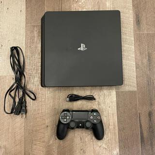 PlayStation4 - プレイステーション4最終型 スリム モンハンワールド付 中古