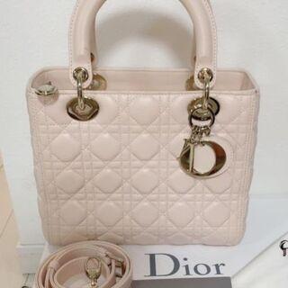 Dior - レディディオール バッグ ベビーピンク