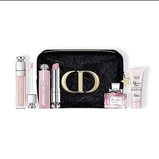 Christian Dior - ディオール クリスマスコフレ 2020 (ポーチなし、4点セット)