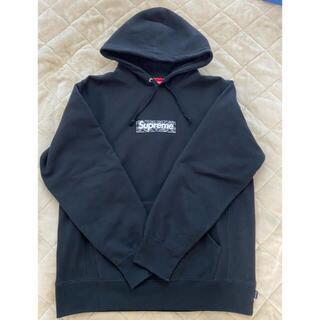 Supreme Bandana Box Logo Hooded Lサイズ 黒(パーカー)