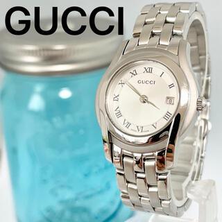 Gucci - 8 グッチ時計 レディース腕時計 新品電池 5500L