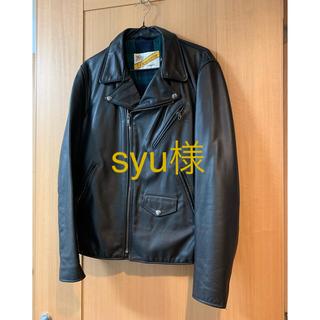シュプリーム(Supreme)の【専用】Supreme×Schott レザーライダースジャケット M 2011(ライダースジャケット)