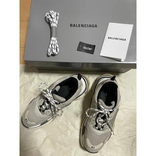 Balenciaga - バレンシアガ トリプルS バニラ 41
