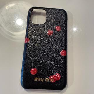 ミュウミュウ(miumiu)のmiumiu iPhone11proケース(iPhoneケース)