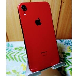 iPhone - iPhone XR 64GB SIMフリー 本体のみ ケース付き