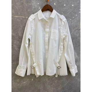 サカイ(sacai)のsacai 白のシャツ(シャツ/ブラウス(長袖/七分))