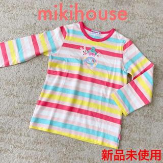 mikihouse - 新品未使用 ミキハウス ロンT Tシャツ 女の子 100 春もの