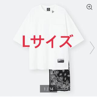 ミハラヤスヒロ(MIHARAYASUHIRO)のGU×ミハラヤスヒロ フハクコンビネーションT(Tシャツ/カットソー(半袖/袖なし))