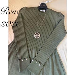 """ルネ(René)のRene♡ 2020年 ニットワンピース """"Daily Elegance""""(ロングワンピース/マキシワンピース)"""
