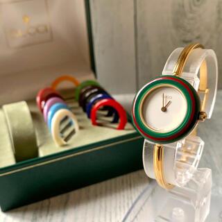 Gucci - 【美品】GUCCI グッチ 腕時計 チェンジベゼル 11/12.2 12色完備