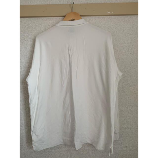 steven alan(スティーブンアラン)のAURALEE×stevenalan 長袖ニットポロシャツ メンズのトップス(ポロシャツ)の商品写真