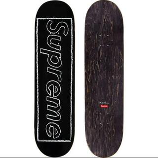 シュプリーム(Supreme)のKAWS Chalk Logo Skateboard supreme 21SS(スケートボード)