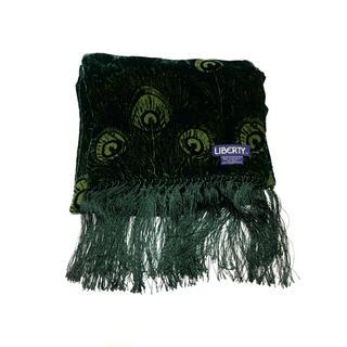 ETRO - 70s LIBERTY Velvet shawl リバティ ベルベット フリンジ