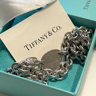 Tiffany & Co. - 未使用 ティファニー リターントゥオーバルタグ ネックレス