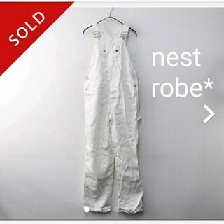 nest Robe - 日本製ネストローブリネン100%オーバーオール