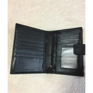 ザラ(ZARA)のzara man 本革 牛革 二つ折り財布 ウォレット ザラ カードケース(折り財布)