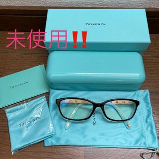 Tiffany & Co. - 【TIFFANY&Co】ティファニーUV、ブルーライトカット伊達メガネ