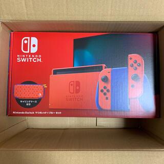 Nintendo Switch - 新品 未開封 Nintendo Switch マリオレッド×ブルー セット