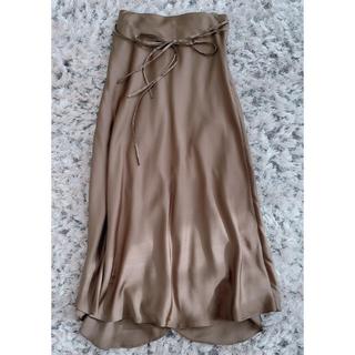 Mila Owen - MilaOwen(ミラ オーウェン)  サテンスカート