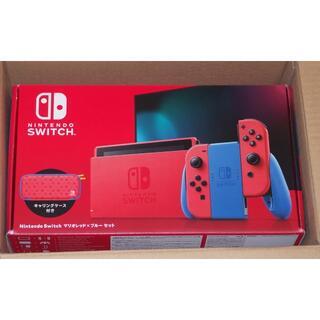 Nintendo Switch - 新品 Nintendo Switch ニンテンドースイッチ マリオレッド&ブルー