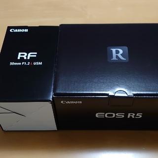 Canon - [CANON]EOS R5 ボディ RF50mm F1.2 レンズ[新品同様]