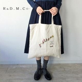 ヤエカ(YAECA)の希少 R&D.M.Co-✨オールドマンズテーラー フォックスハント刺繍 バッグ(トートバッグ)