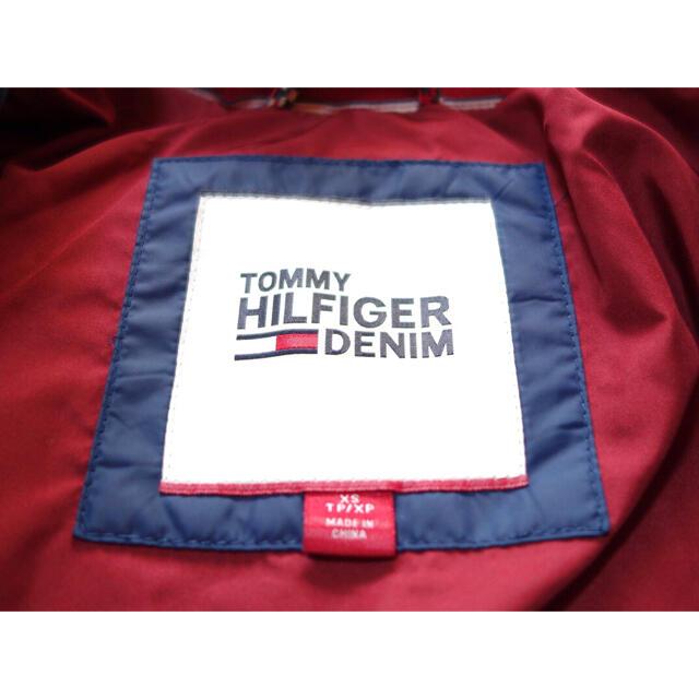 TOMMY HILFIGER(トミーヒルフィガー)の★ほぼ新品★トミーヒルフィガー ダウンジャケット ボンバージャケット★XSサイズ メンズのジャケット/アウター(ダウンジャケット)の商品写真