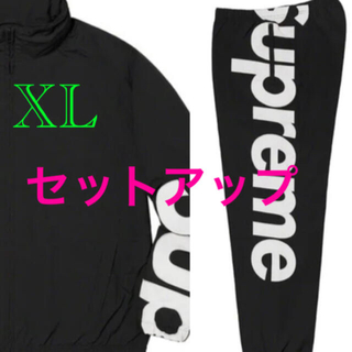 Supreme - Spellout Track Jacket & Pant セットアップ XL