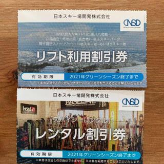 日本駐車場開発 株主優待 リフト レンタル 割引券(その他)