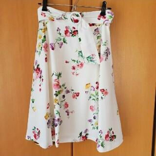 MISCH MASCH - お花柄スカート