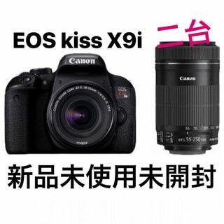 Canon - 【新品未使用】Canon eos kiss x9i ダブルズーム 2台
