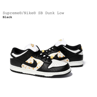 Supreme - 最安値 SUPREME NIKE SB DUNK LOW スニーカー