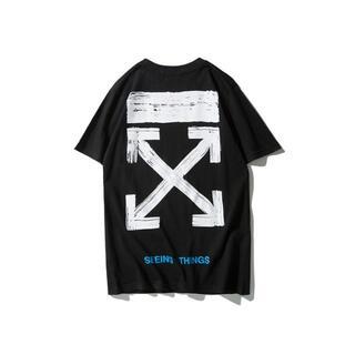 OFF-WHITE - 1748OFF WHITEオフホワイト半袖Tシャツ男女兼用 8000円2枚