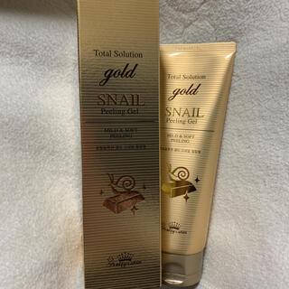 ザセム(the saem)のTotal Solution gold SNAIL Peeling Gel(ゴマージュ/ピーリング)