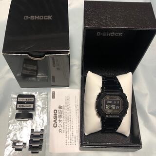 G-SHOCK - CASIO G-SHOCK GMW-B5000GD-1JF フルメタル ブラック