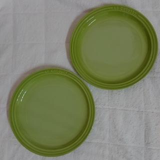 ルクルーゼ(LE CREUSET)のル・クルーゼ ラウンドプレート19cm フルーツグリーン(食器)
